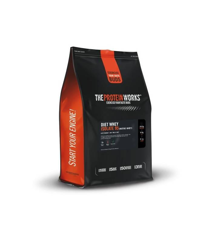 Vente en ligne Diet Whey Isolate 95 - Native - TPW au meilleur prix...