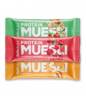 PROTEIN MUESLI BAR BIOTECH - discount-nutrition.re - 974