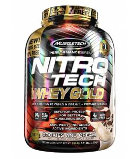 NITRO TECH WHEY GOLD - MUSCLE TECH